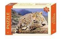 Пазлы 160 элементов. Леопард